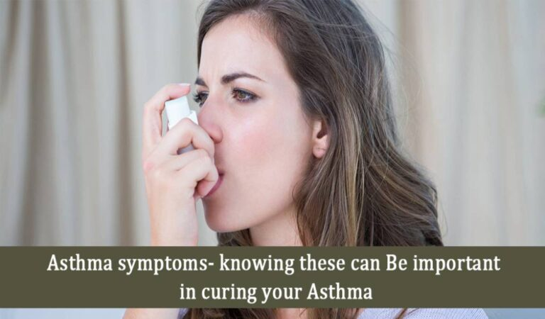 Asthma symptoms- knowing these can be important in curing your asthma