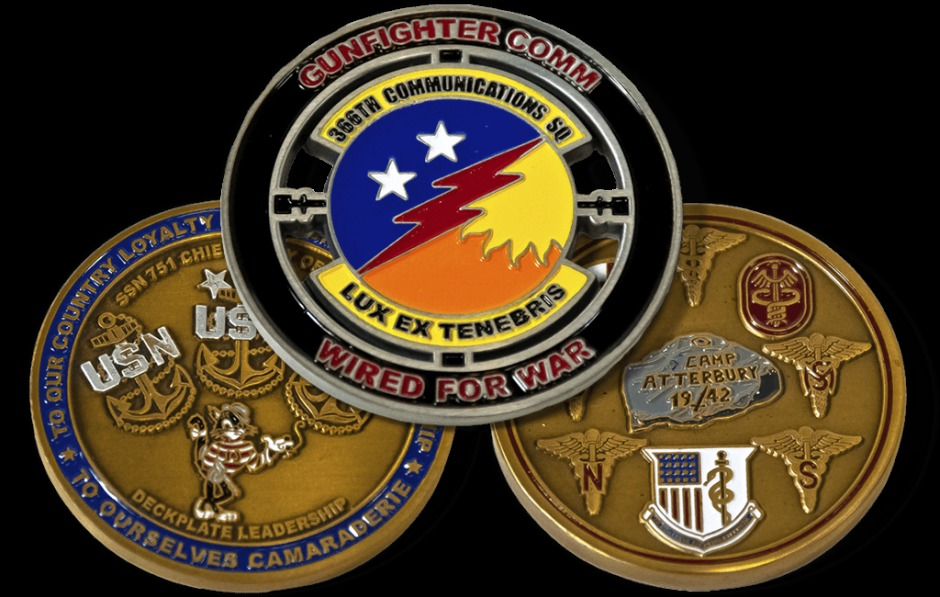 What Make Custom Challenge Coins Unique Gift Items