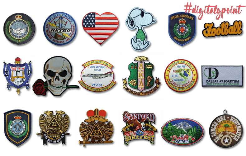 Top 6 benefits of custom embroidered patches