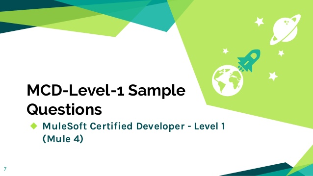 MuleSoft Certified Developer-Level-1 Dumps 2021 Questions for Real-time Exam Training