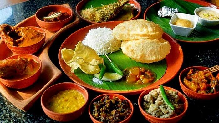 Bengali Lunch Menu