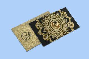 luxury business cards Dubai