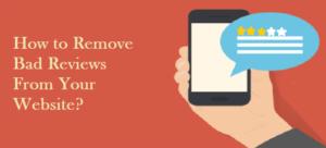 Remove Bad Reviews
