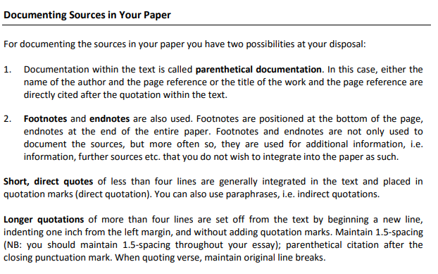 Cite the sources- References