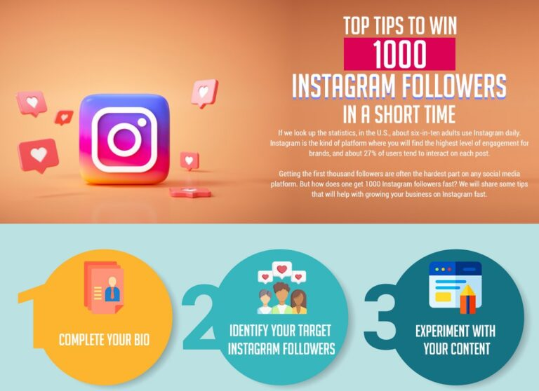 Top Tips to Win 1000 Instagram Followers in a Short Time