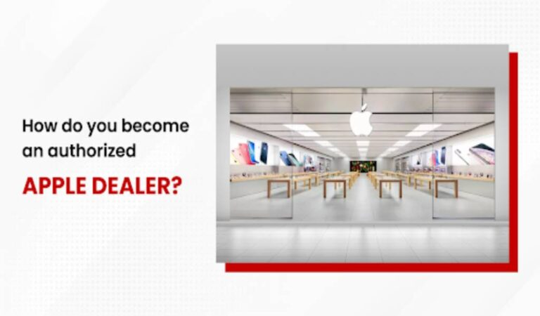 How do you become an authorized Apple dealer?