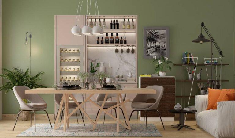 Top 4 Dining Room Wall Interior Design Ideologies